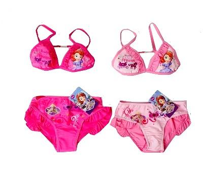 Dětské plavky Sofia světle růžové vel.104 132bc4867e