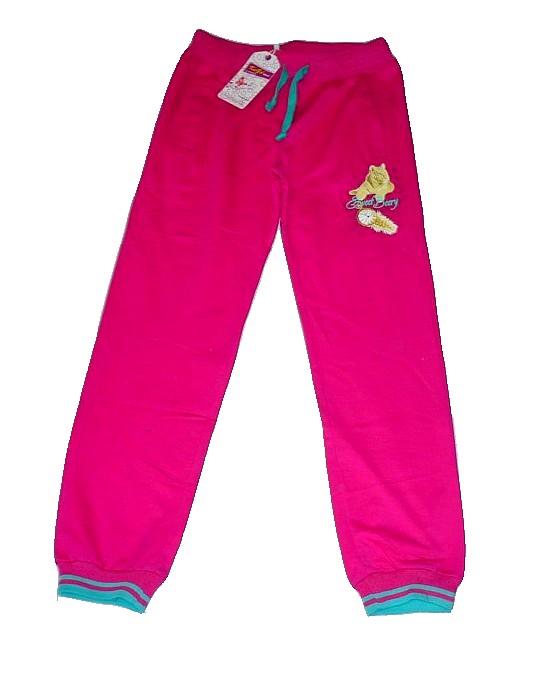 Dětské tepláky růžové vel.140  144cf3e827