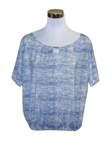 9d5ff8c9ba9 Dámská halenka tričko bílo modré vel.M-XXL