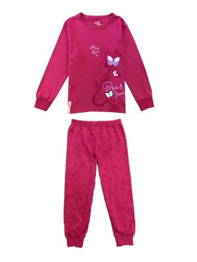 965d11c2d287 Dětské pyžamo fialové vel.116
